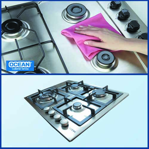 Stainless Hob